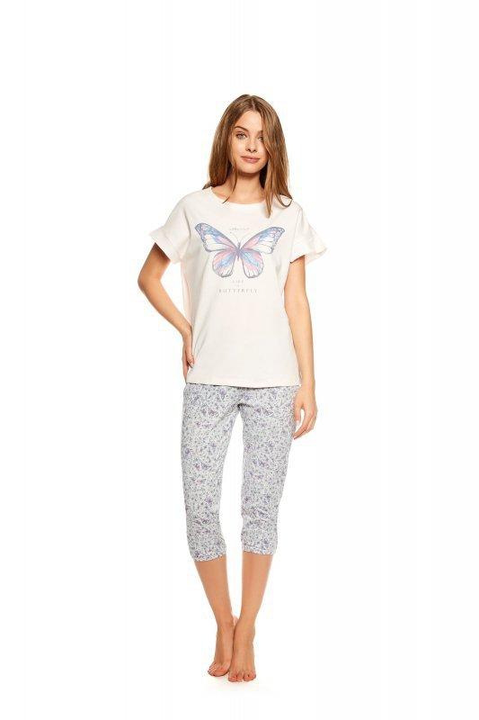 0af612163c19a5 Henderson Ladies · Henderson Twinkle 36813-03X Różowo-szara piżama damska