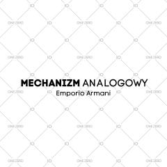 mechanizm analogowy Emporio Armani