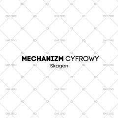 mechanizm cyfrowy Skagen