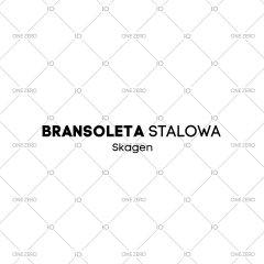 bransoleta stalowa Skagen - kolor