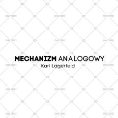 mechanizm analogowy Karl Lagerfeld