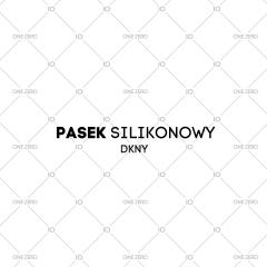 pasek silikonowy DKNY