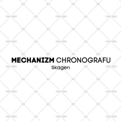 mechanizm z chronografem Skagen