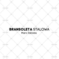 bransoleta stalowa Marc Jacobs - kolor