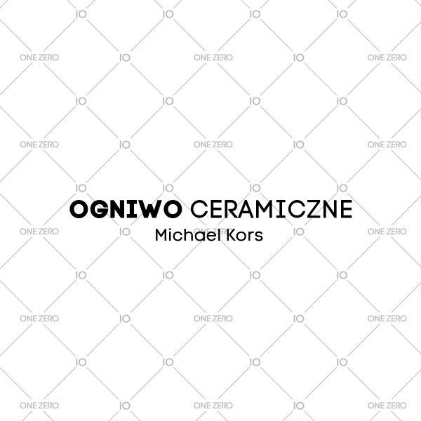 ogniwo ceramiczne Michael Kors • ONE ZERO • Modne zegarki i biżuteria • Autoryzowany sklep