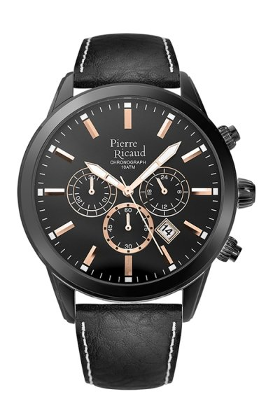 zegarek Pierre Ricaud P97010.B2R4CH • ONE ZERO • Modne zegarki i biżuteria • Autoryzowany sklep