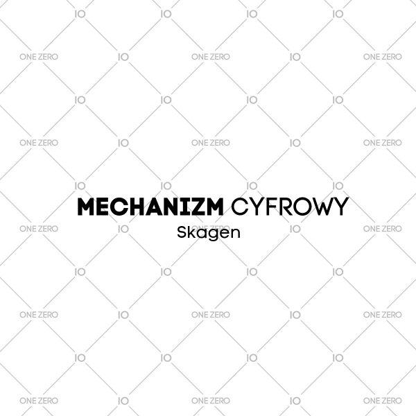 mechanizm cyfrowy Skagen • ONE ZERO • Modne zegarki i biżuteria • Autoryzowany sklep