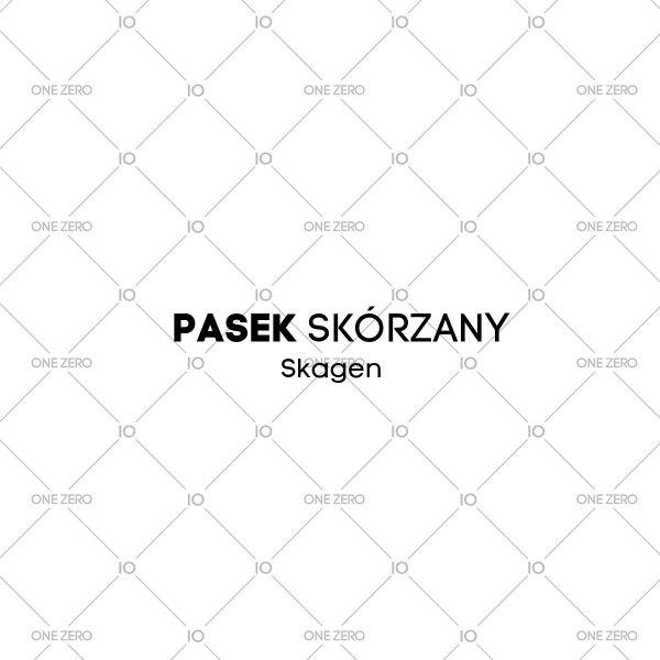 pasek skórzany Skagen • ONE ZERO • Modne zegarki i biżuteria • Autoryzowany sklep