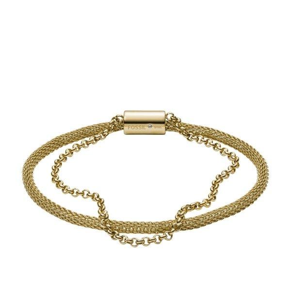 bransoletka Fossil JF03022710 • ONE ZERO • Modne zegarki i biżuteria • Autoryzowany sklep