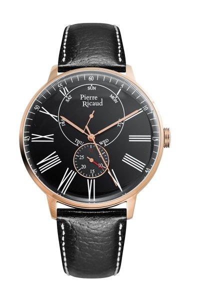 zegarek Pierre Ricaud P97219.9234QF • ONE ZERO • Modne zegarki i biżuteria • Autoryzowany sklep