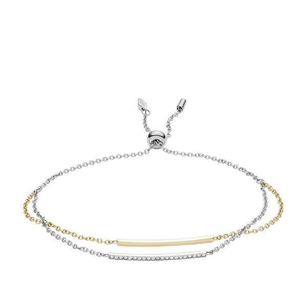 bransoletka Fossil JF02910998 • ONE ZERO • Modne zegarki i biżuteria • Autoryzowany sklep