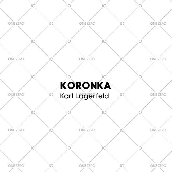 koronka Karl Lagerfeld • ONE ZERO • Modne zegarki i biżuteria • Autoryzowany sklep