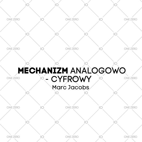 mechanizm analogowo - cyfrowy Marc Jacobs • ONE ZERO • Modne zegarki i biżuteria • Autoryzowany sklep