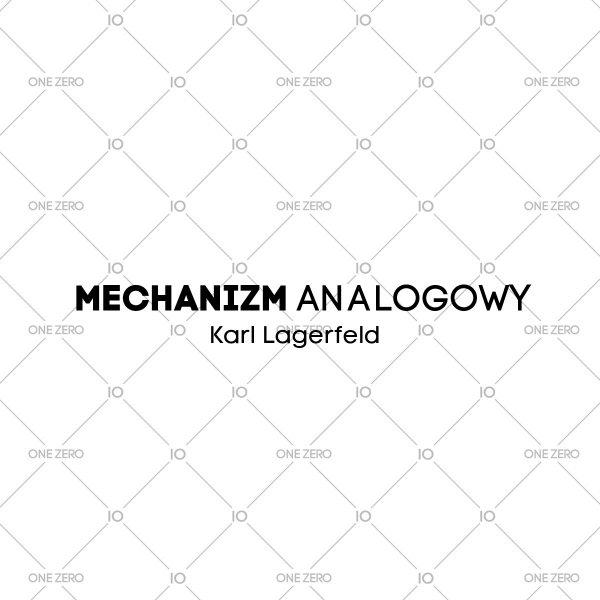 mechanizm analogowy Karl Lagerfeld • ONE ZERO • Modne zegarki i biżuteria • Autoryzowany sklep