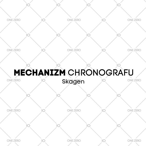 mechanizm chronografu Skagen • ONE ZERO • Modne zegarki i biżuteria • Autoryzowany sklep