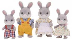 Sylvanian Families Rodzina szarych króliczków