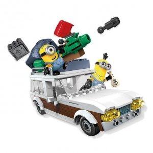 Mega Bloks Minionki Figurki z pojazdem
