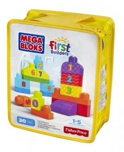 Mega Bloks First Builders Liczymy 1-2-3!
