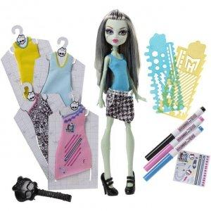 Monster High Projektuj z Frankie zestaw