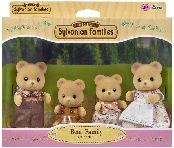 Sylvanian Families Rodzina misiów