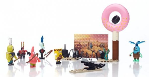 MBL Spongebob Filmowe figurki