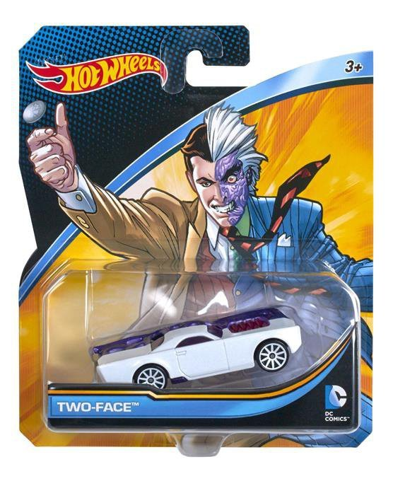 Hot Wheels DC Comics samochodziki Ast.
