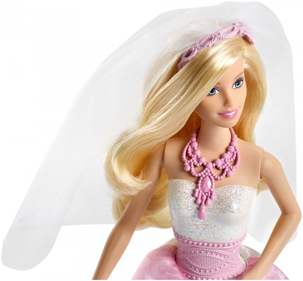 Lalka Barbie Panna Młoda W Wersji ślubnej Z Białą Sukienką