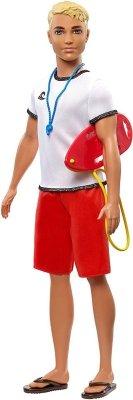 Lalka Barbie Ken Kariera Ratownik Mattel FXP04