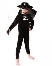 Strój Karnawałowy Kostium Zorro r. S
