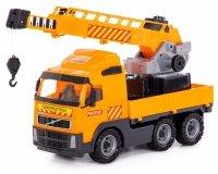Dźwig Ciężarówka z Długim Ramieniem Volvo Polesie Wader 8824