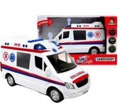 Karetka Zabawka Pogotowie Ambulans auto światło dźwięk zabawka Madej 75008