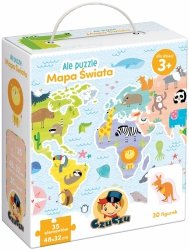 CzuCzu Ale puzzle Mapa świata CzuCzu 49019