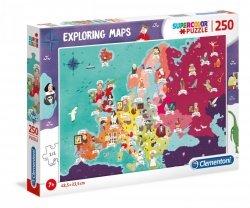 Puzzle Great People in Europe 250 el. Clementoni 29061