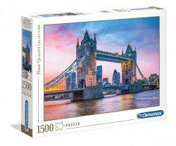 Puzzle Zachód Słońca nad Tower Bridge 1500 el. Clementoni 31816