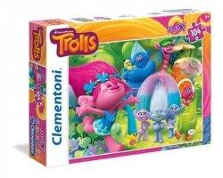 Puzzle Maxi Trolls 104 el. Clementoni 23981