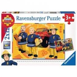 Puzzle Strażak Sam W akcji 2x12 el. Ravensburger 075843