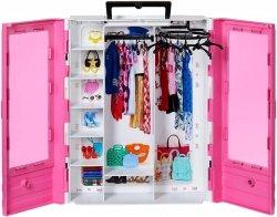 Ubrania Barbie Szafa na Ubranka Garderoba Mattel GBK111