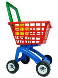 Zabawkowy Wózek Sklepowy 58 cm