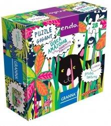 Puzzle gigant Dzika Amazonia 28 el. Endo Granna 00243
