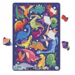Puzzle Ramkowe Dinozaury 53 el. Dodo 300181