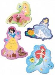 Moje Pierwsze Puzzle Disney Księżniczki 3/6/9/12 el. Clementoni 20825