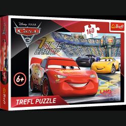Puzzle Cars 3 Auta 3 Przyspieszenie 160 el. Trefl 15339