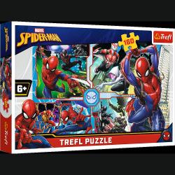 Puzzle SpiderMan Na ratunek 160 el. Trefl 15357