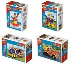 Puzzle Zawsze na służbie Strażak Sam mini maxi 20 el. Trefl 56001