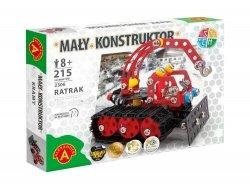 Zestaw Konstrukcyjny Mały Konstruktor Ratrak 216 el. Alexander 2306