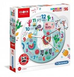 Puzzle Zegar Llama 96 el. Clementoni 23036