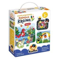 CzuCzu Puzzle progresywne Baśniowa Kraina CzuCzu 49035