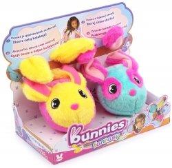 Pluszowe Króliczki magnetyczne Bunnies Fantasy 2-pak TM Toys 096462