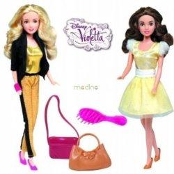 Śpiewająca Violetta i Ludmiła 2 lalki z dźwiękiem Simba 5730413