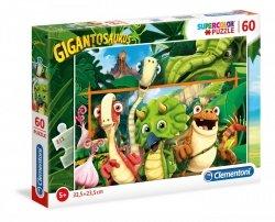 Puzzle Gigantozaur 60 el. Dinozaury Netflix Clementoni 26996